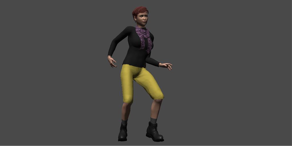 FG3D Female Cloth Collection 1 Unity 3D Models – FG3D