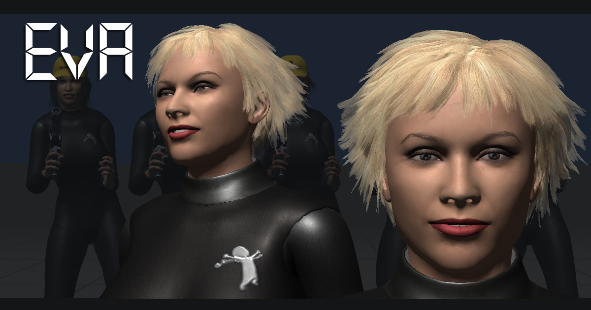 FGC Female Eva Unity 3D Models – FG3D