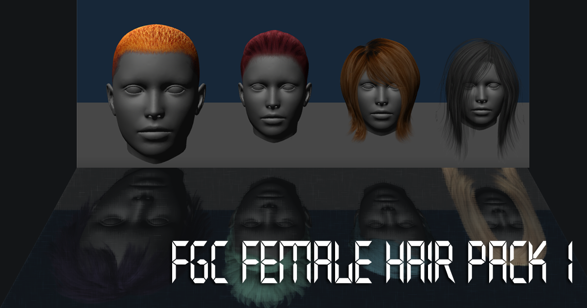 FGC Fem Hair Pack 1