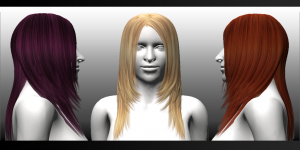 FGC Fem Hair Pack 1 Long1