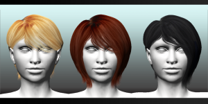 FGC Fem Hair Pack 1 Medium1
