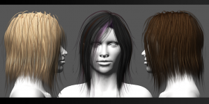 FGC Fem Hair Pack 1 Medium 2