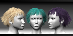 FGC Fem Hair Pack 1 Short2