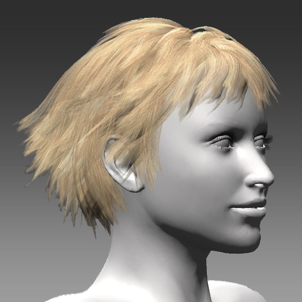 how to make hair in unity