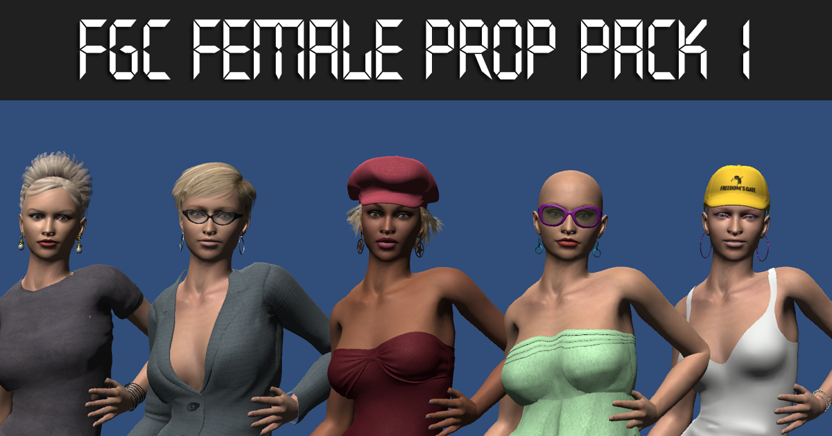 FGC Female Prop Pack 1