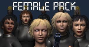 3d models fgc_femalepack
