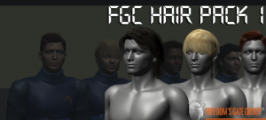 3d models fgc_hairpack1