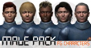 3d models fgc_malepack