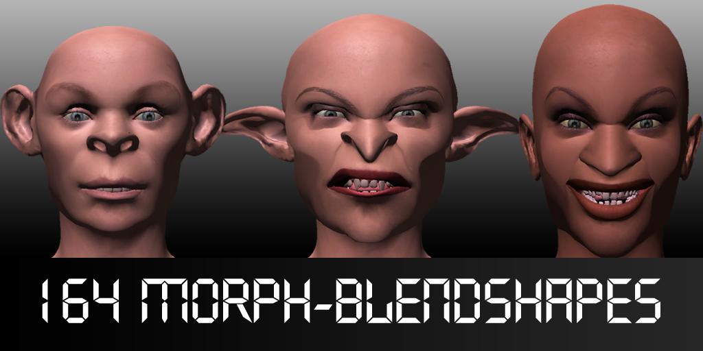 FG3D Female Mrs Jones Unity 3D Models – FG3D