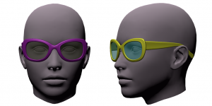 FGC Female Prop Pack 1 glasses1
